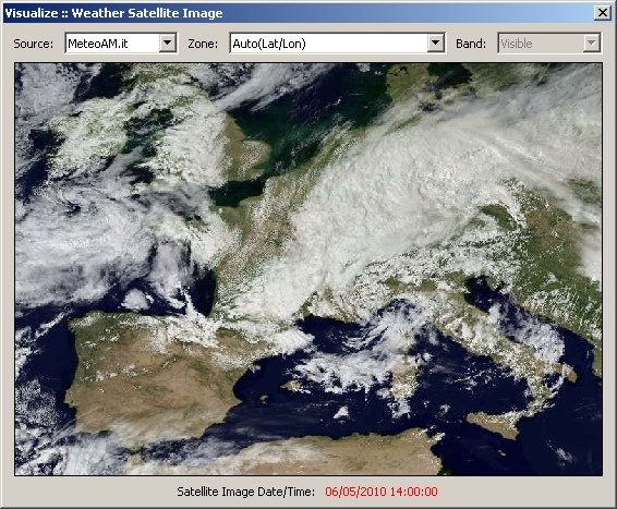 weather satellite view