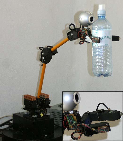 Robotic Arm Adaptive Control Hardware Chorg Ii Project Software